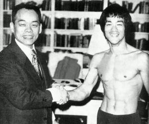 Jhoon Rhee Bruce Lee handshake